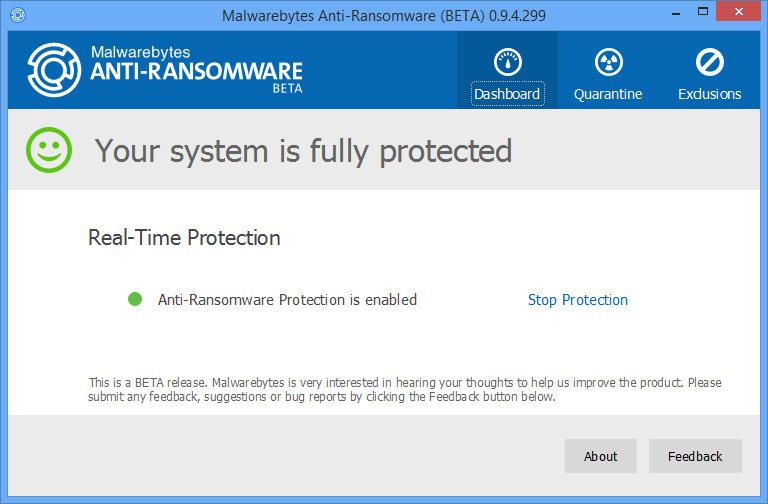 Malwarebytes Anti-Ransomware Beta 0 9 18 807 free download