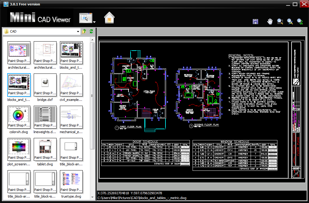 Mini Cad Viewer 3 1 7 Free Download Downloads Freeware