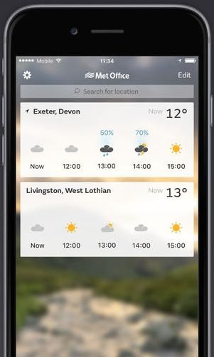 Met office weather free download download the - Www met office weather forecast ...