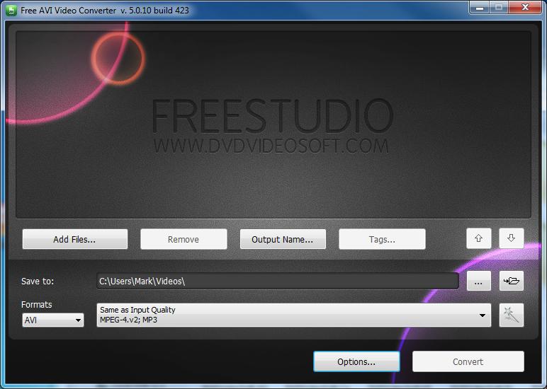 free avi video converter v 5.0 31