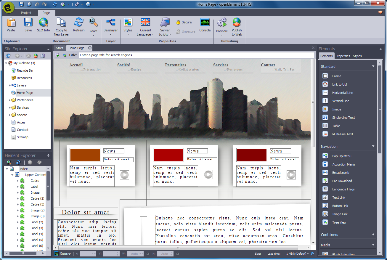 openElement 1 57 free download - Software reviews, downloads