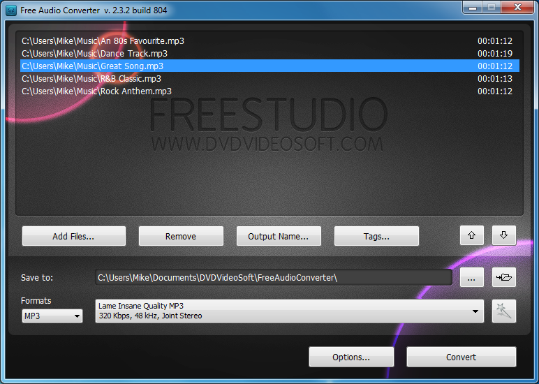 free audio converter 5.1 7.215 activation key