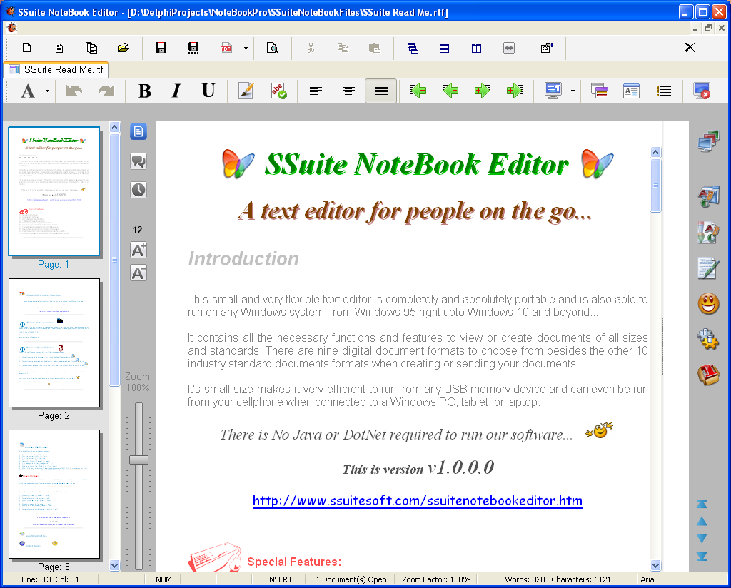 SSuite NoteBook Editor 2 6 1 free download - Software reviews