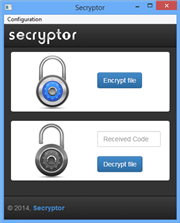 Secryptor 1.0 on Windows
