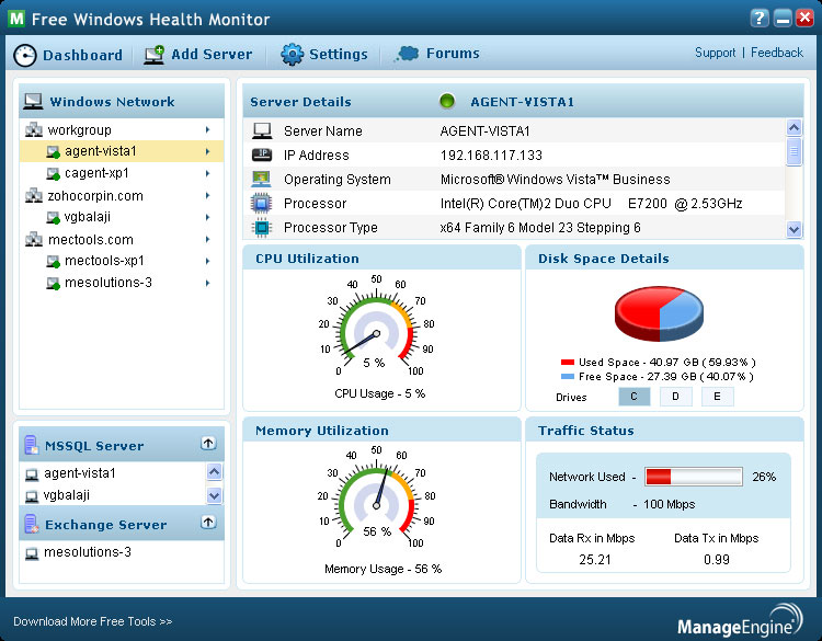 Windows health monitor 2. 00. 004 free download software reviews.