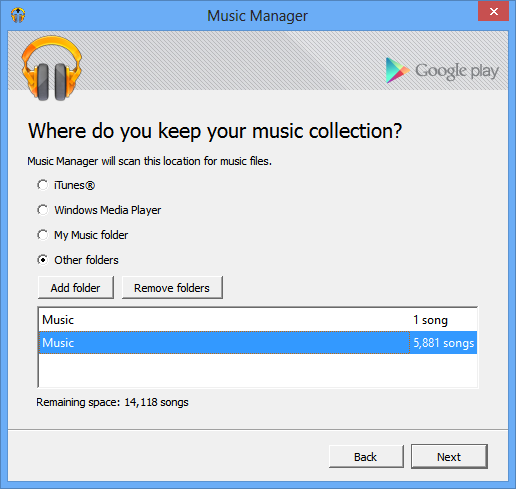 Google Play Music Manager 1 0 60 free download - Software reviews