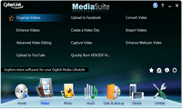 CyberLink MediaSuite 9 Centra