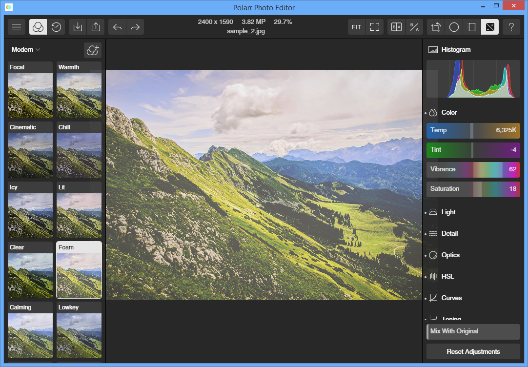 Polarr photo editor free 1 0 0 free download software Free photo software
