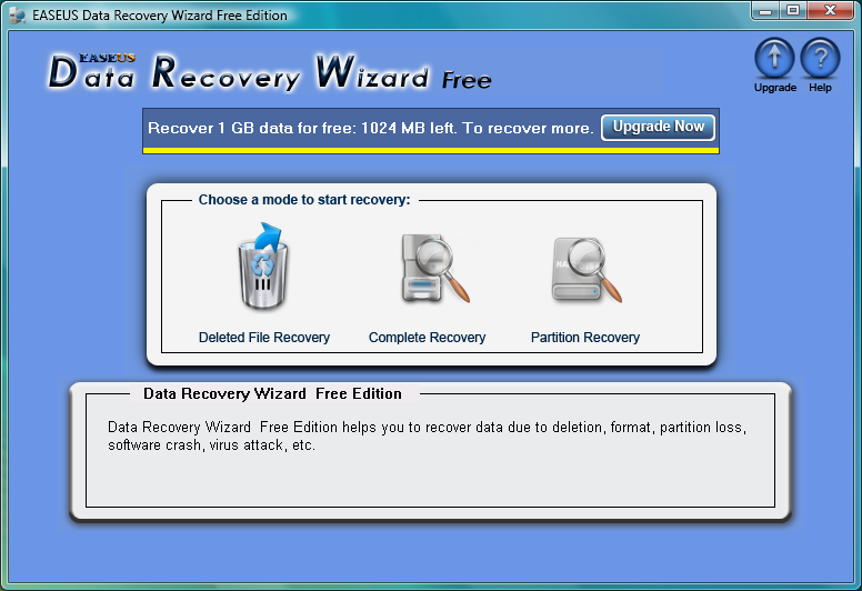 easeus data recovery freeware download