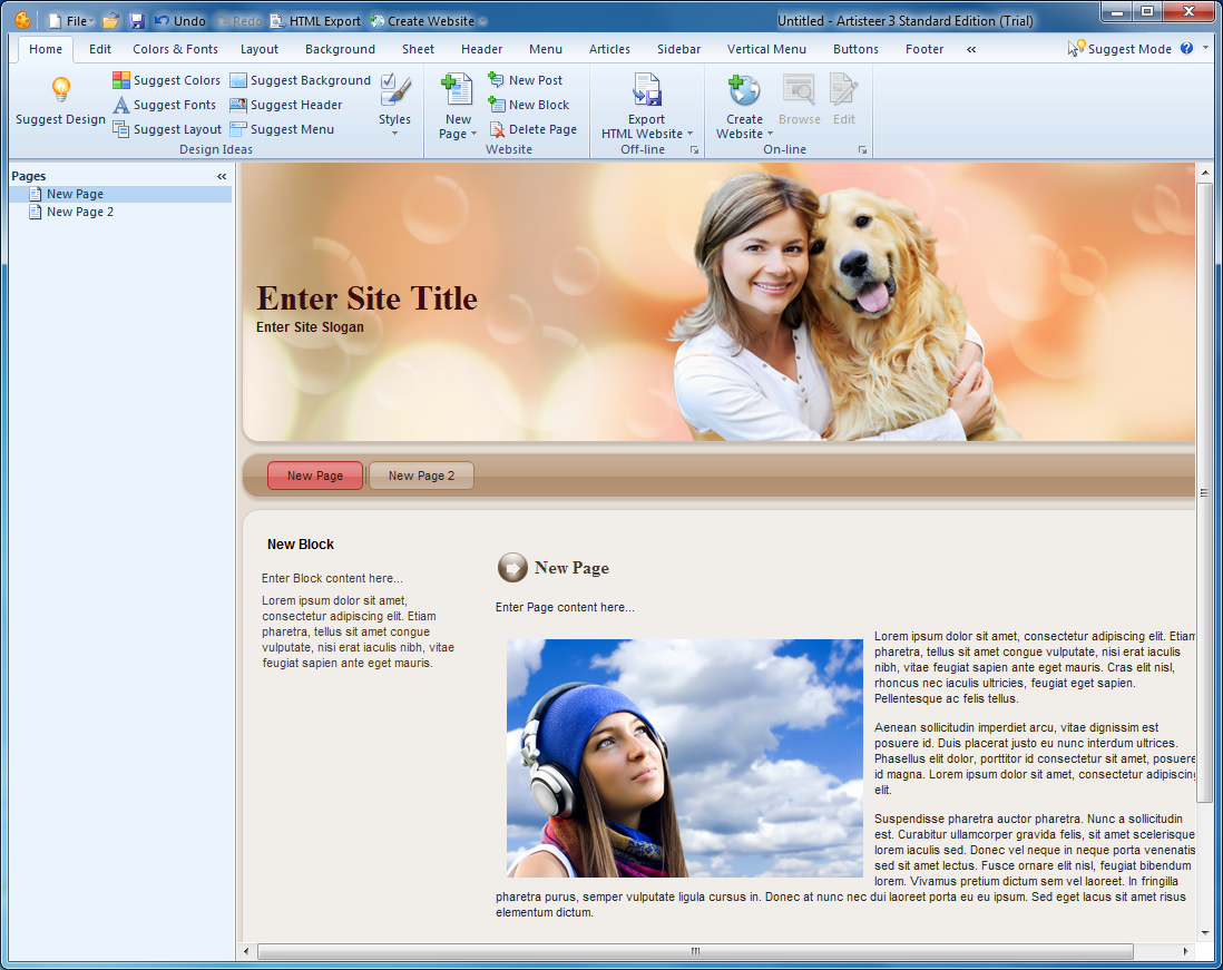 Artisteer 4.3 free download - Download the latest freeware ...