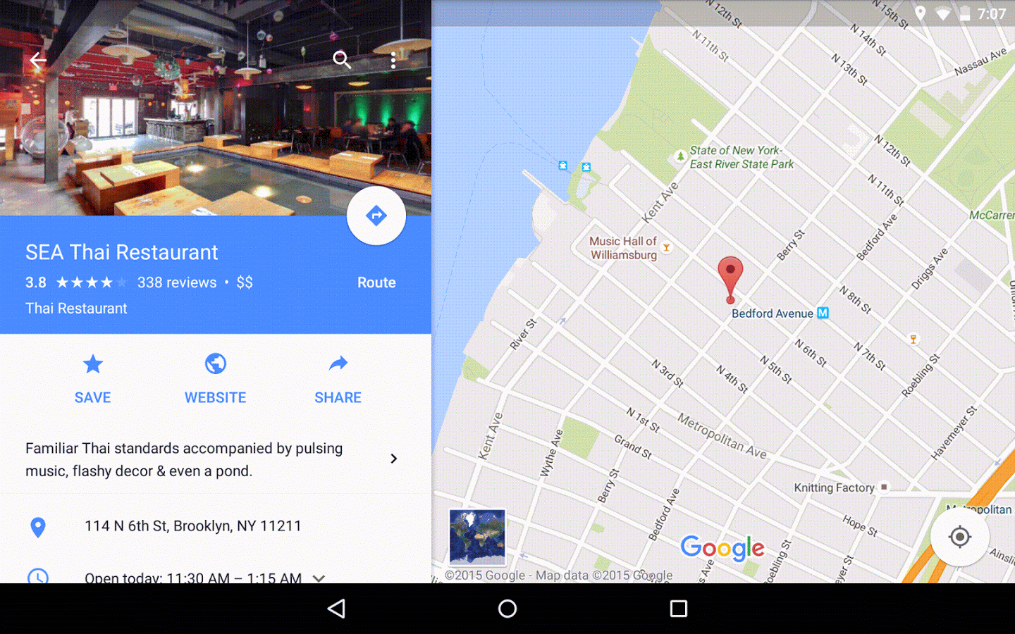 Google Maps For Android  Free Download Software Reviews - Us elevation map google