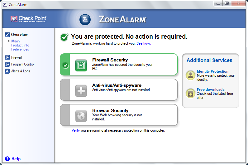 ZoneAlarm 2017 Free v15.1.501.17249 free download ...