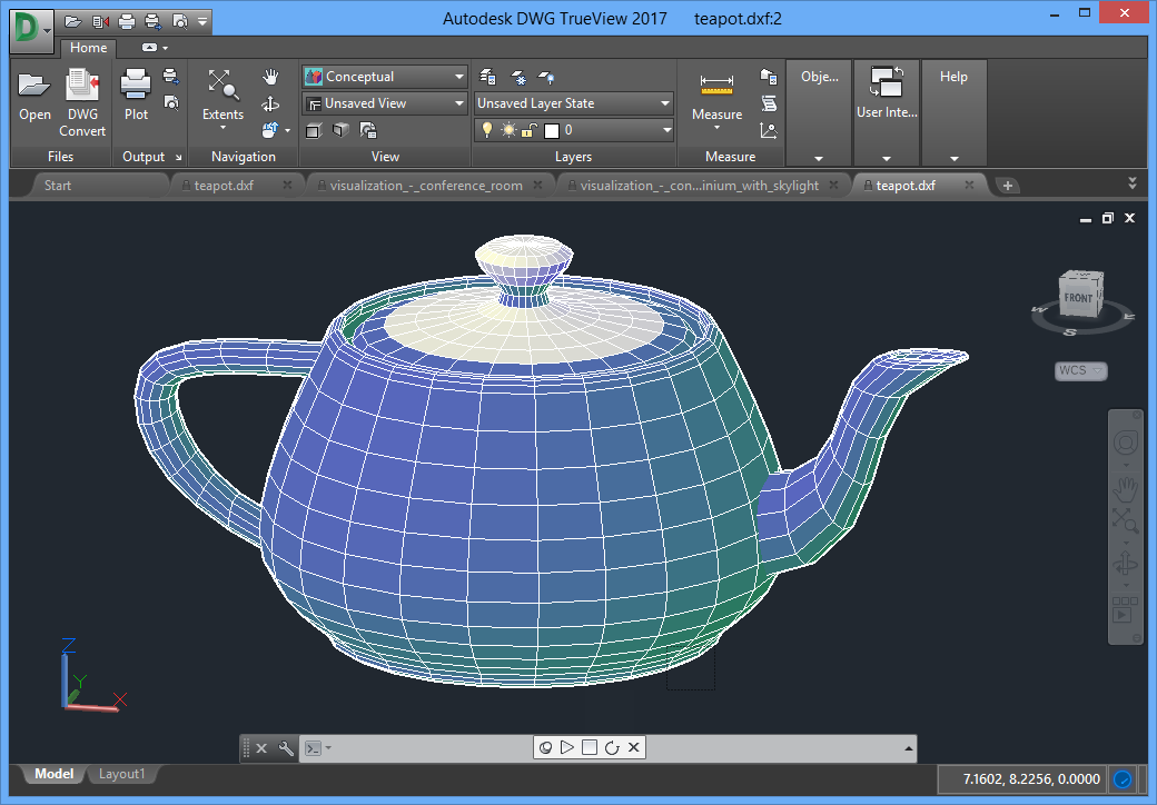 Autodesk dwg trueview 2017 free download download the for Online cad editor