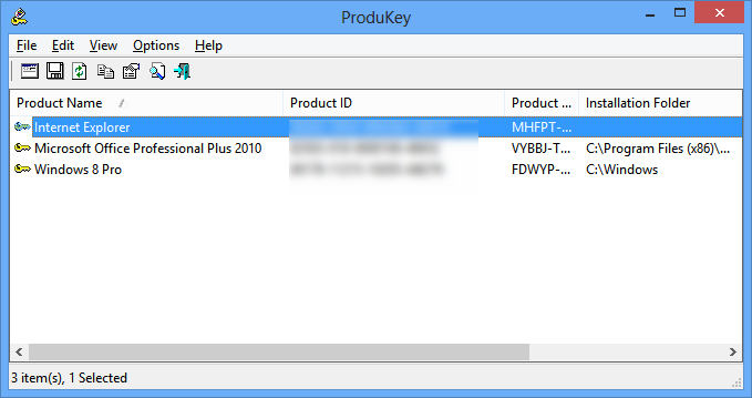 ProduKey 1.93 free download - Software reviews, downloads ...