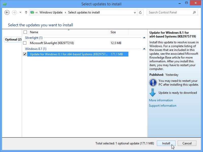 windows 8 1 update 2