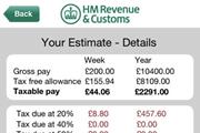 HMRC Tax Calc