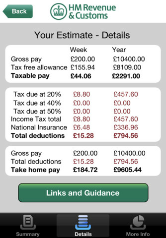 Hmrc Tax Calc 4 2 Uk Only Free Download Software
