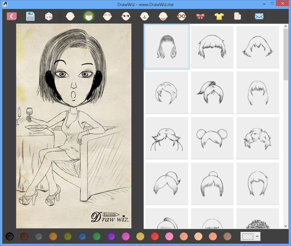 Character Design Program Download : Drawwiz free download software reviews downloads