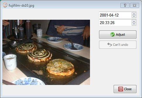 EXIF ReGenerate 0.1.3 audio video photo