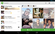 Hangouts for iOS