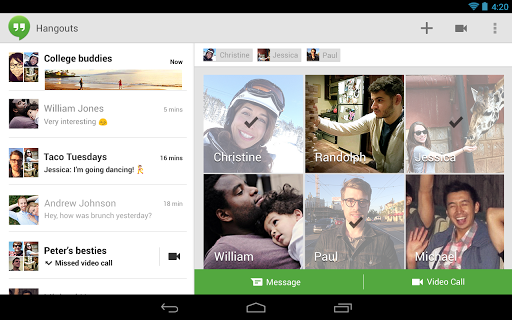 Google Hangouts 23 free download - Software reviews, downloads, news