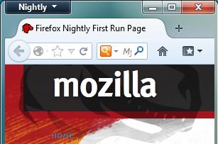 Firefox Australis 16.0.1a internet tools