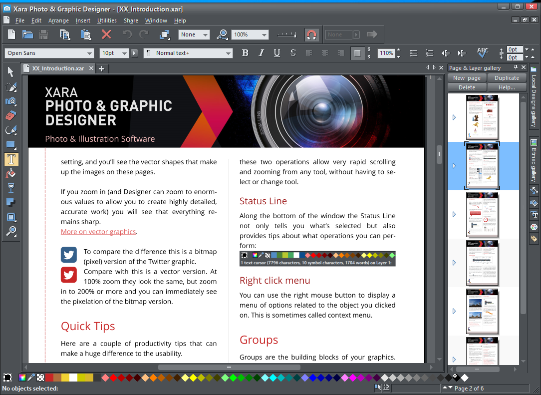 Xara Photo Graphic Designer 16 0 0 55162 Free Download Software Reviews Downloads News Free Trials Freeware And Full Commercial Software Downloadcrew