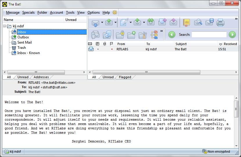 The Bat 8 6 64 Bit Free Download Downloads Freeware
