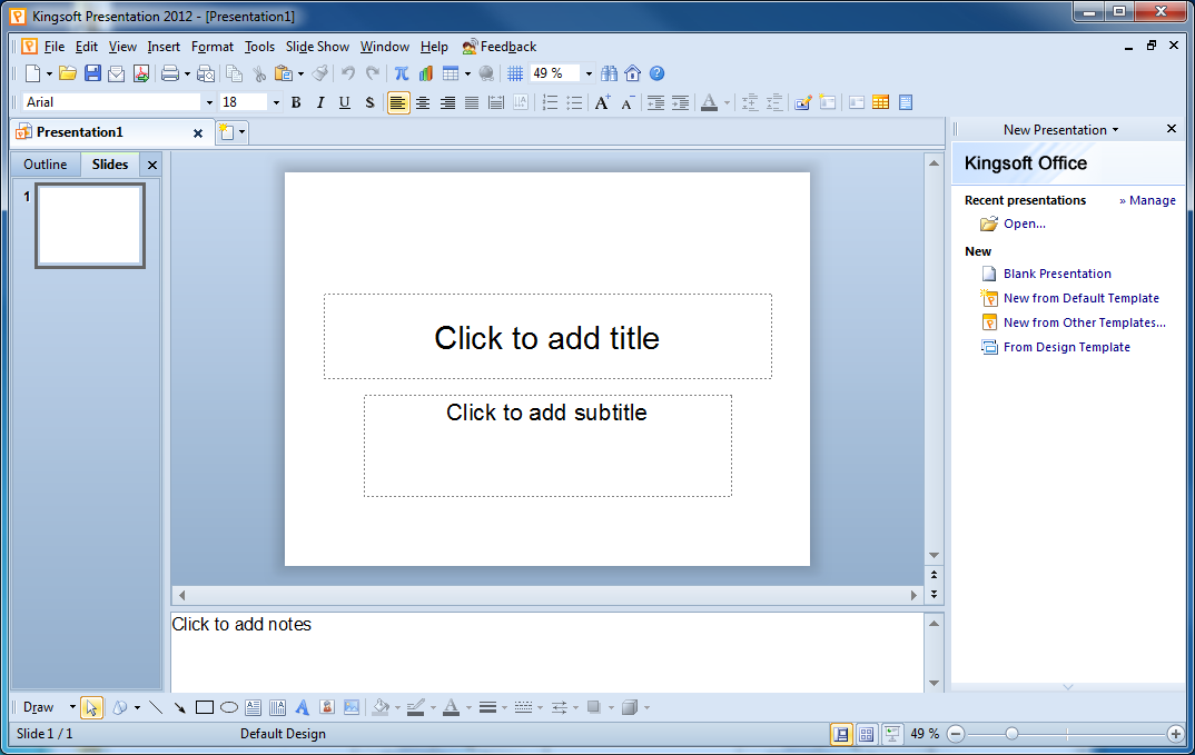 Kingsoft presentation free 2013 free download software - Free download kingsoft office for windows 7 ...