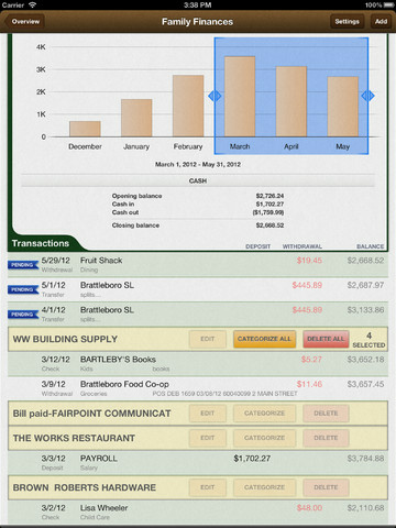 iBanktivity for iPad 3 5 4 free download - Software reviews