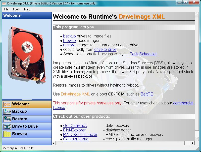 DRIVEIMAGE XML TÉLÉCHARGER