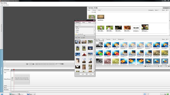 Nero Video screenshot