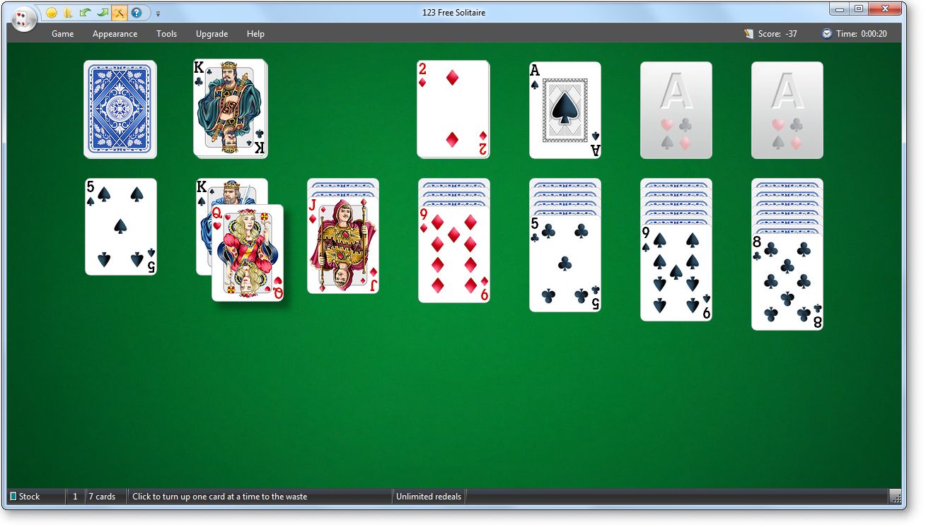 123 Free Solitaire 10.3 free download - Software reviews ... Funnygames Patience 1