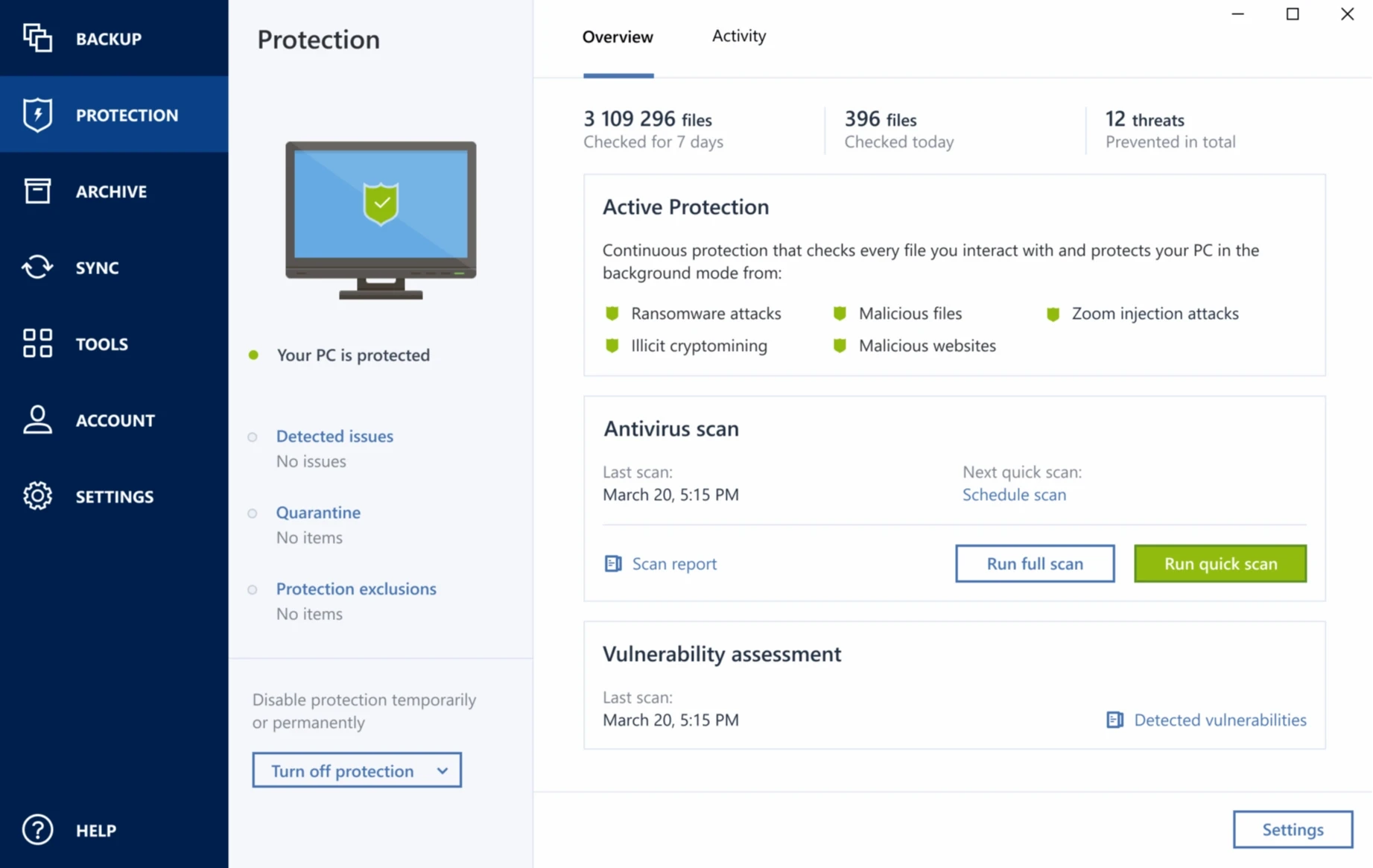 acronis true image 2019 windows 10