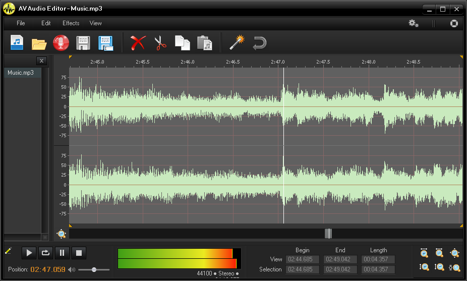 Sound expert free sound editor software free audio editing.