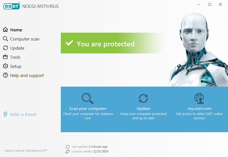 Eset nod32 antivirus 12. 0. 31. 0 free download software reviews.