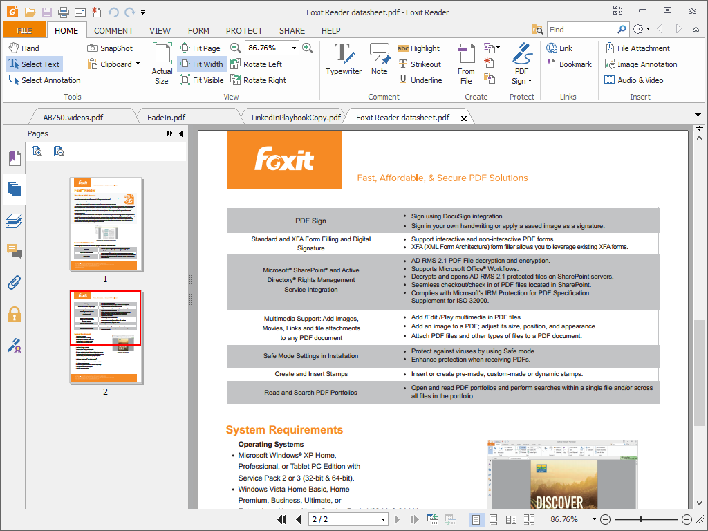 foxit reader latest version free download filehippo