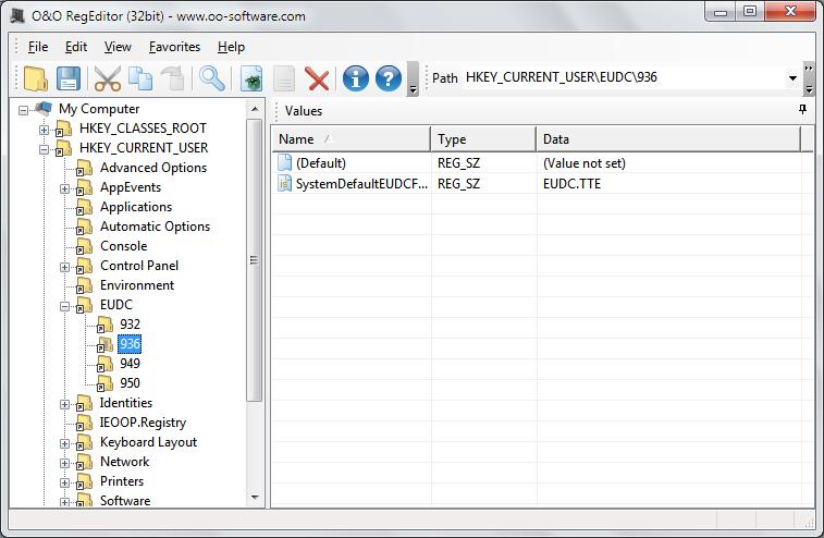 Windows 8 O&O RegEditor full