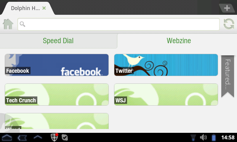 Dolphin Browser 10.0 free download - Software reviews ...