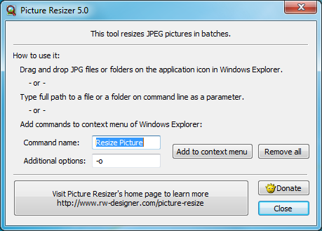 Picture Resizer 5 0 0 1 free download - Software reviews