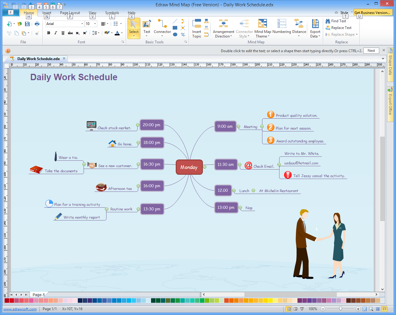 Edraw mind map free 79 free download software reviews a free mind map diagram creator ccuart Gallery