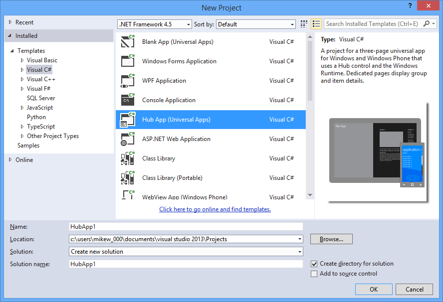 Microsoft visual studio 2013 (free) download latest version in.