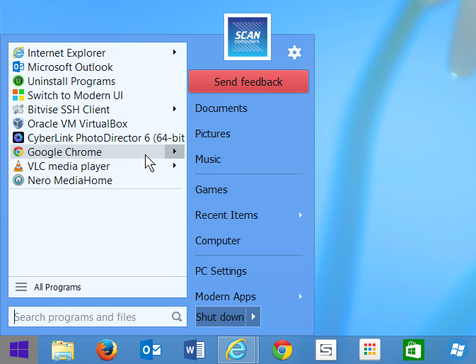Start Menu 8 v5 0 0 22 free download - Software reviews