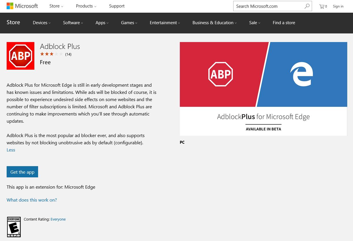 adblock microsoft edge free download