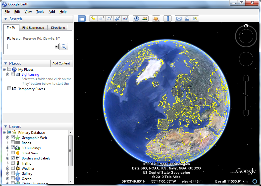 Google Earth 7 3 2 5495 Free Download Software Reviews Downloads