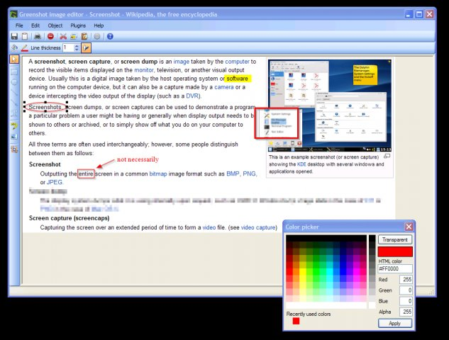 Greenshot 1.2.8.12 free download - Software reviews ... Greenshot