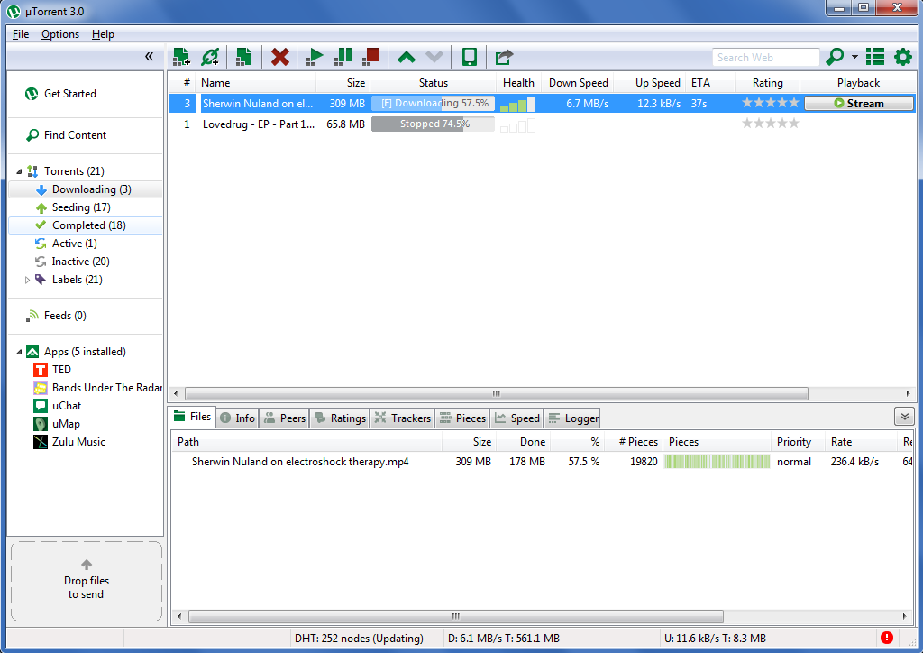 Windows 7 and utorrent - Troubleshooting - Torrent Community Forums