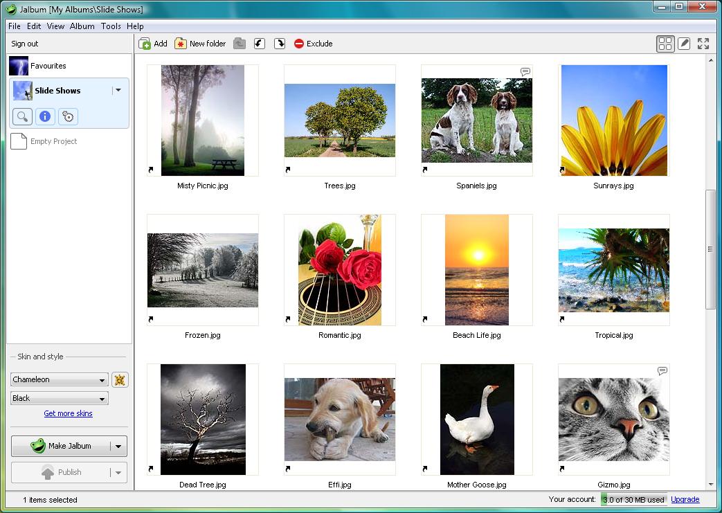 تحميل برنامج jAlbum 10.10.8 لانشاء البومات للصور على الويب