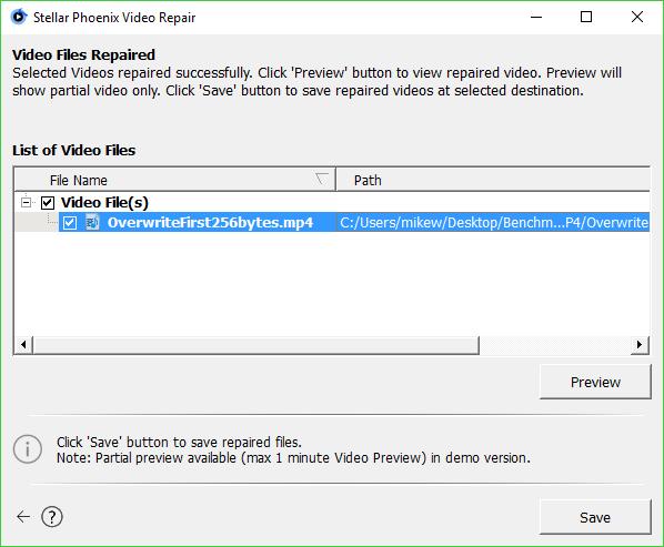 Stellar Phoenix Video Repair 3 0 0 0 Free Download