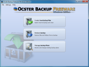 Ocster Backup: Freeware Windows Edition